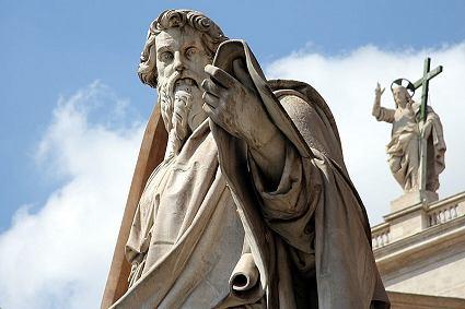 Dimanche 02 juin 2019/Septième dimanche de Pâques - Page 6 425px-Vatican-St-Paul-Statue-Rom-Italien