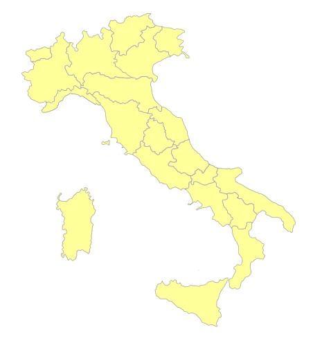 Karte Italien Regionen.Italien Regionen Die 20 Italienischen Regionen